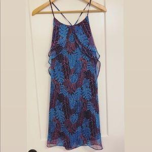 Umgee NWT tropical print flowy shift swing dress